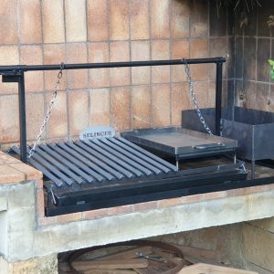 Fabricacion de Bbq en obra y hierro